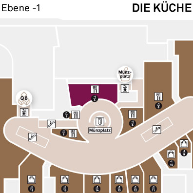 Die Kuche Q 6 Q 7 Q 6 Q 7 Mannheim